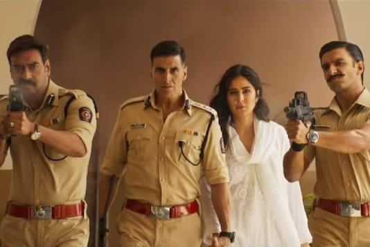 Akshay Kumar, Katrina Kaif, Ajay Devgn and Ranveer Singh in Rohit Shetty's Sooryavanshi