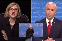 Jim Carrey Dressed as Joe Biden Became 'The Fly' on Mike Pence's Head on SNL