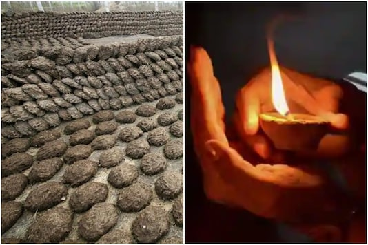 Cow dung diyas to wipe out Chinese lights this Diwali | Image credit: Reuters/PTI
