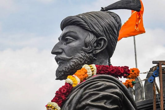 File photo of a statue of Chhatrapati Shivaji Maharaj.