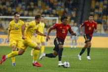 UEFA Nations League: With Fans in Stands, Ukraine Beat Spain for 1st Time