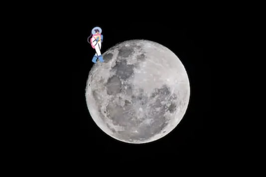 Moon / image for representation.