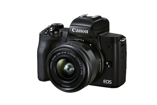 Canon EOS M50 Mark II With Improved Eye AF and Viewfinder Launched, Priced at Rs. 58,995