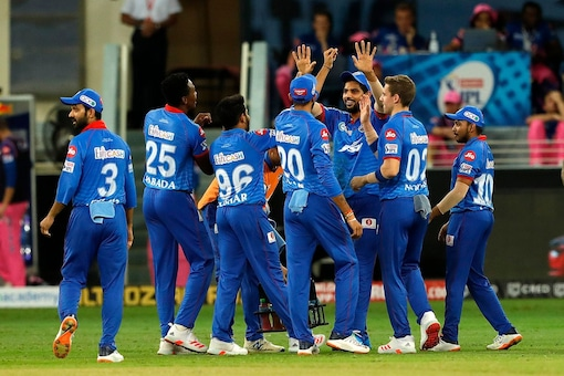 Delhi Capitals defended the total brilliantly and eventually won the game by 13 runs. (Source: BCCI)