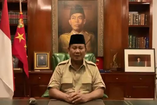Prabowo will receive official briefings elsewhere in the Washington D.C.-area on Thursday as Jakarta weighs a fighter jet purchase that has also attracted interest from Moscow. (Photo: Twitter)