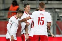 UEFA Nations League: Robert Lewandowski Double Steers Poland to 3-0 Win over Bosnia