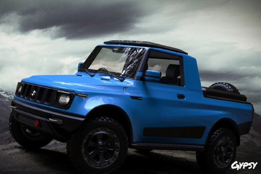 Maruti Gypsy reimagined