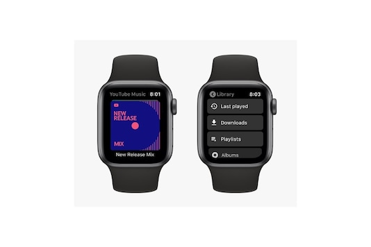 YouTube Music on Apple Watch