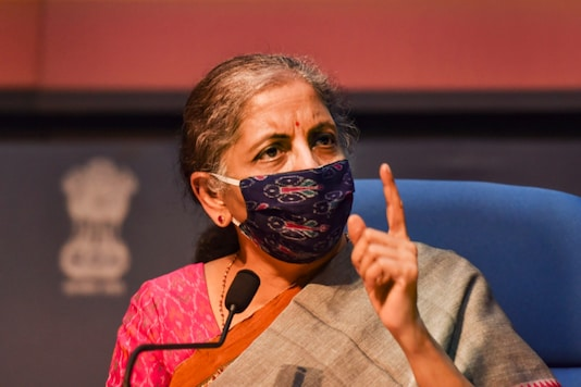 Finance Minister Nirmala Sitharaman tabled the Economic Survey in Parliament on January 29. (File photo: PTI)