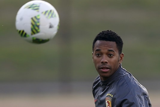 File photo of Robinho (Photo Credit: Reuters)
