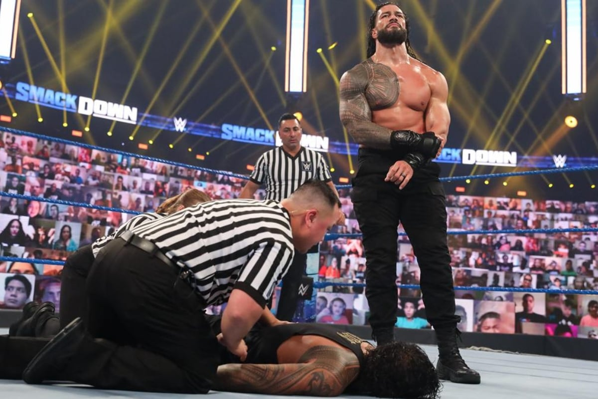 WWE Smackdown: Roman Reigns Defends Title, New Day Gets Emotional Farewell and Bayley Refuses Contract