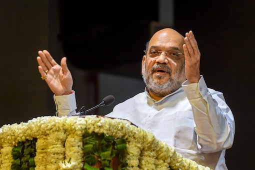 File photo of Union home minister Amit Shah. (PTI)