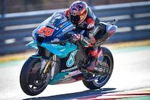MotoGP: Quartararo Storms to Aragon Grand Prix Pole after Practice Crash
