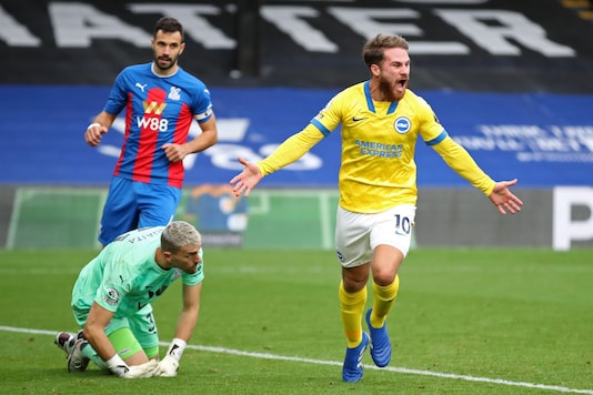 Brighton and Crystal Palace (Photo Credit: Twitter)
