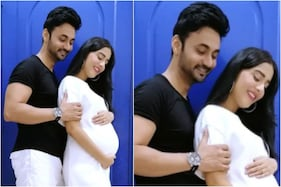 Amrita Rao Says 'Baby Coming Soon' as She Cradles Pregnancy Bump in Loving Pic with RJ Anmol