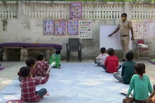 Delhi Cop Turns Teacher for Underprivileged Children Who Cannot Afford Online Classes