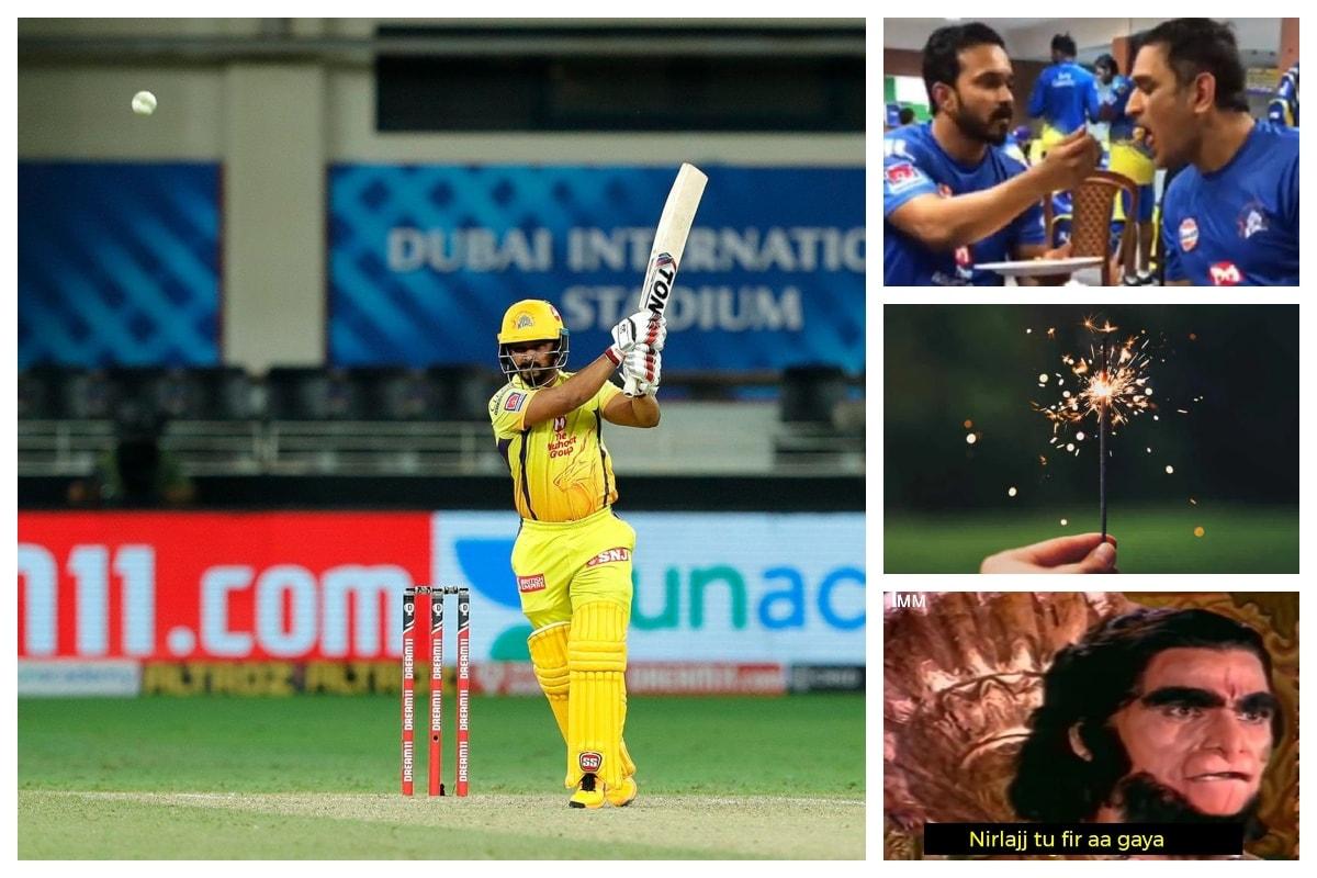 IPL 2020 CSK vs RR: Kedar Jadhav Gets Brutally Trolled Again for Yet Another Slow Innings
