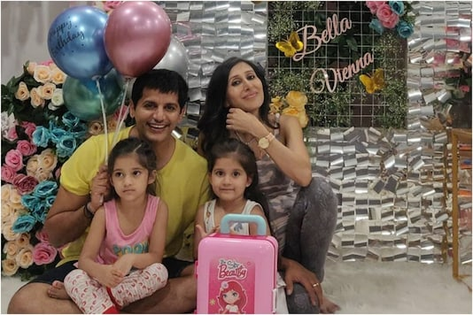 Karanvir Bohra, Teejay Sidhu Celebrate Their Twins Daughters Bella and Vienna's Birthday