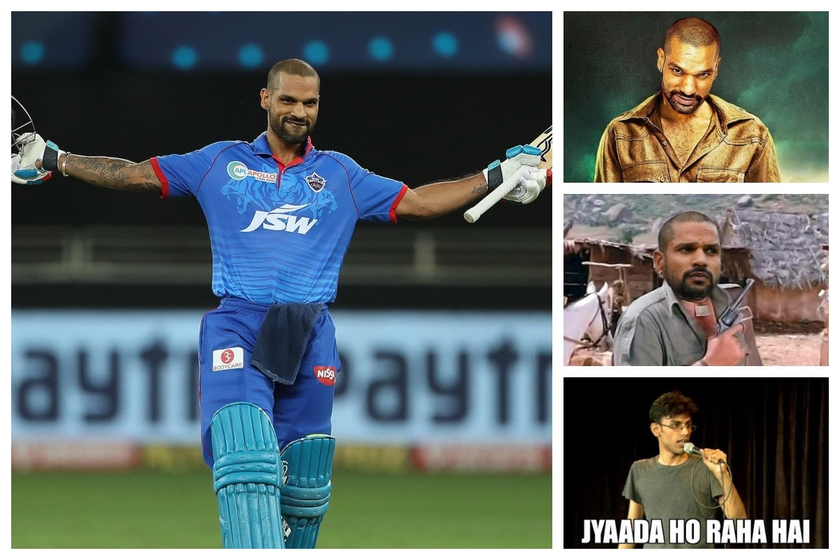 IPL 2020 DC vs KXIP - Shikhar Dhawan First Player to Score Back-to-Back Hundreds in IPL; Twitter Lauds The 'Gabbar' Effort