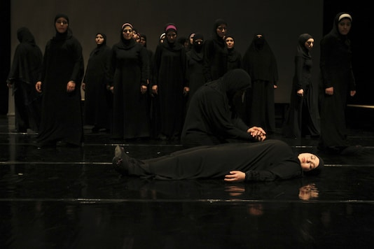 The play is dedicated to the memory of all the people who left without saying goodbye to their loved ones and for all the families who have suffered this loss. Representational Image. Reuters.