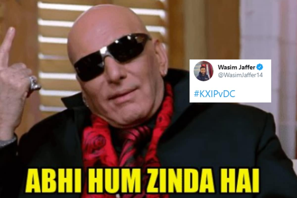 Wasim Jaffer Had the Perfect Meme to Sum up KXIP's Revival in IPL 2020 After Defeating DC