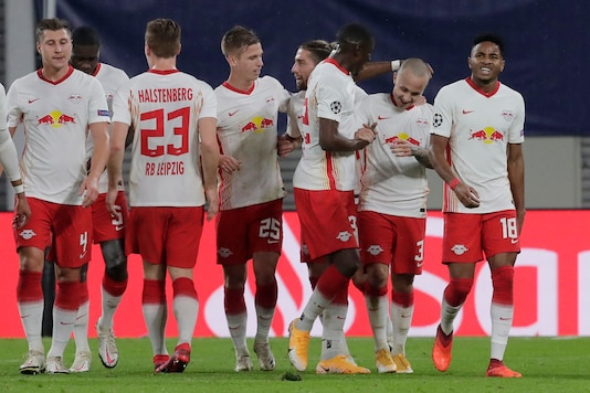 Uefa Champions League Angelino Gets Leipzig Off To Champions League Winning Start