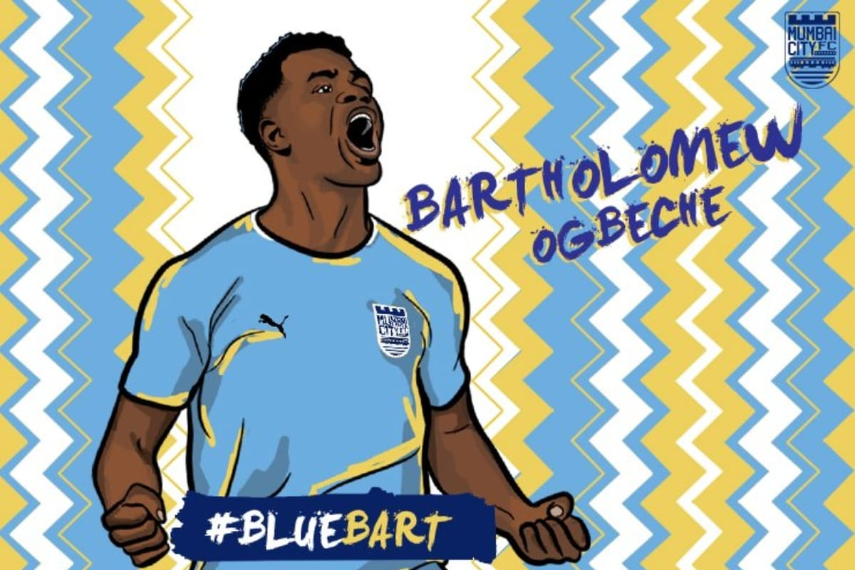 ISL: Bartholomew Ogbeche Signs with Mumbai City FC on One-year Deal