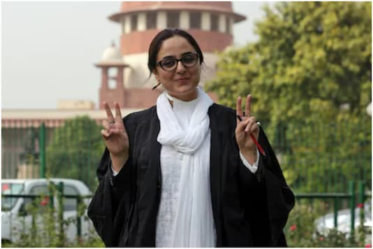 Deepika Singh Rajawat has been receiving threats and mobs outside her J&K residence since she tweeted a cartoon on rape and Navratri   Image credit: Reuters