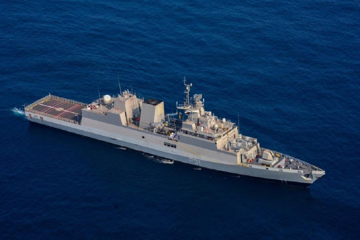 Indigenously Built Stealth Corvette INS Kavaratti to Be Commissioned into Navy Tomorrow