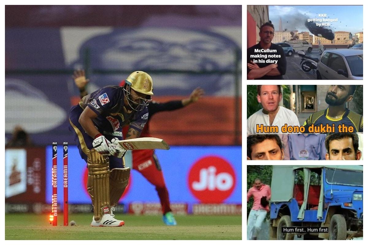 Fans Brutally Troll KKR With Hilarious Memes After Poor Batting Display Against Virat Kohli's RCB