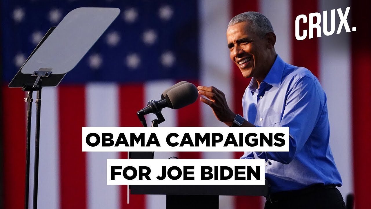 Barack Obama Makes First In-Person Pitch For Joe Biden, With A Direct Attack At Donald Trump