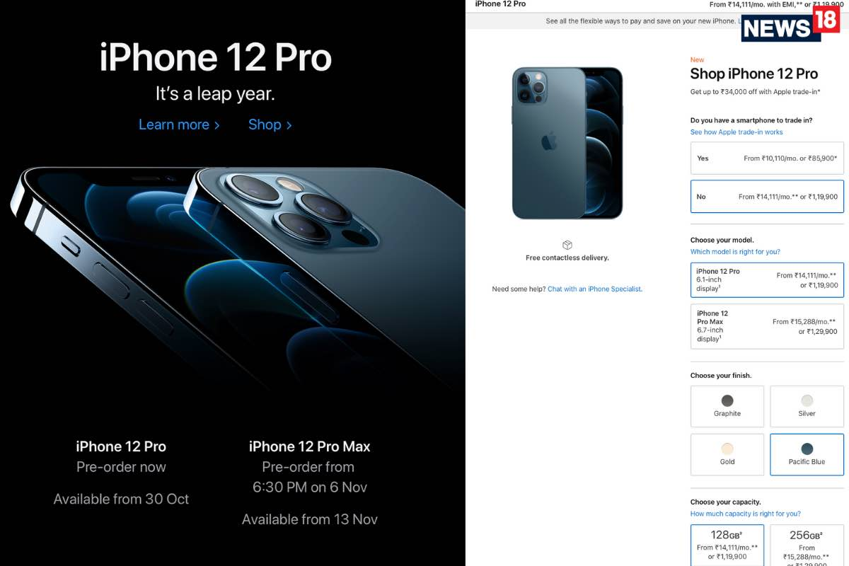 Apple iPhone 12 Pro Preorders On Apple India Online Store: Up To Rs 34,000 For Your Old Phone