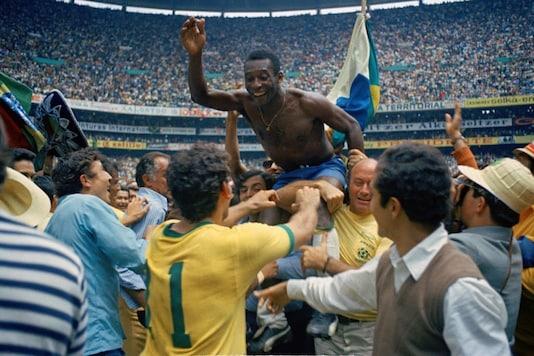 Pele (Photo Credit: AP)