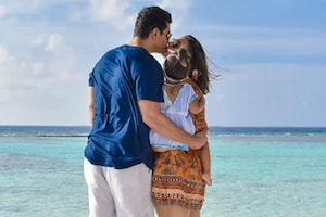 More Mesmerizing Pics From Neha Dhupia & Angad Bedi's Maldives Vacation