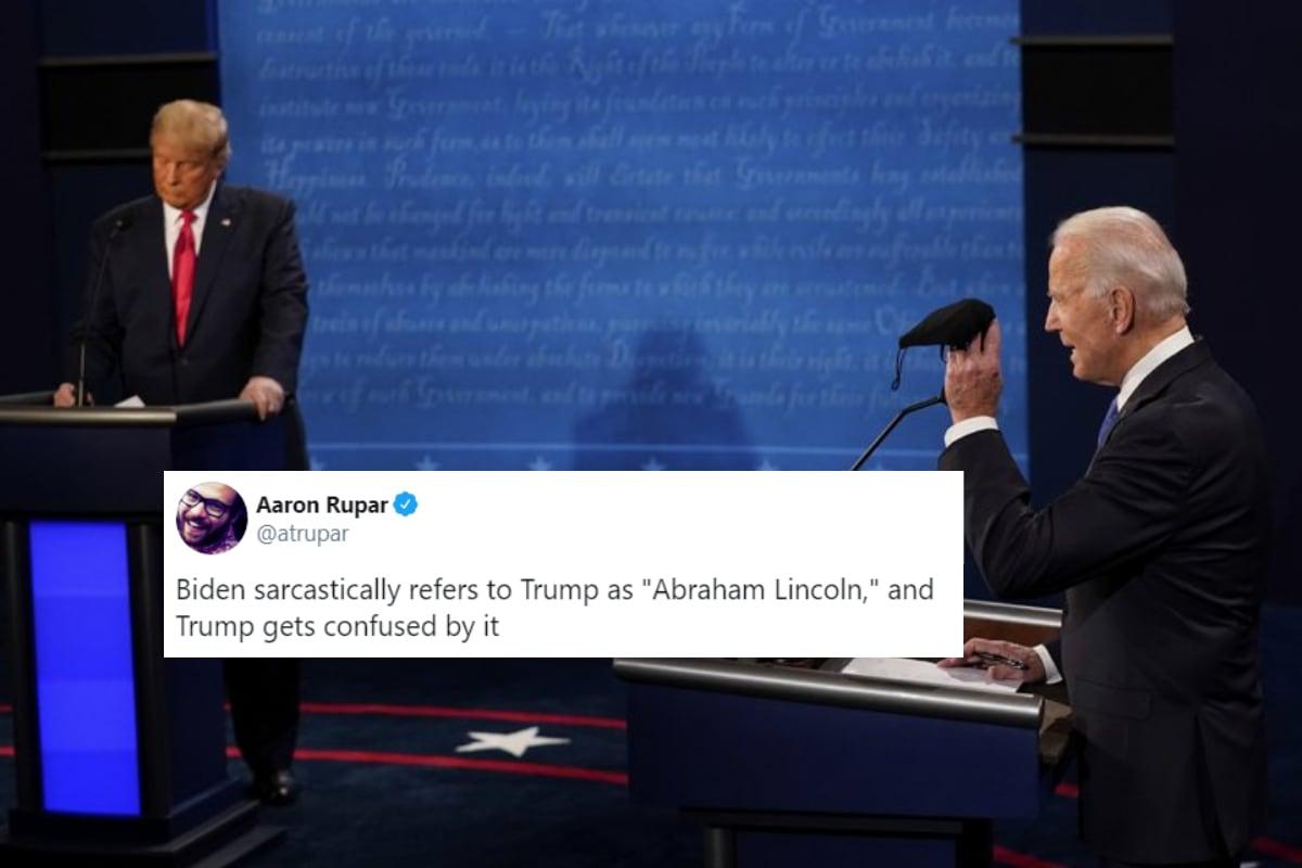 Joe Biden Had a Savage Response to Donald Trump Calling Himself the 'Least Racist' President