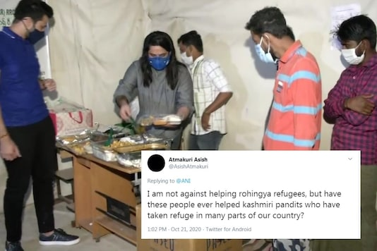 The restaurants were even voted down on Zomato for giving food to the Rohingya refugees.