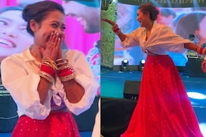 Neha Kakkar Flaunts 'Chooda' as She Grooves With Rohanpreet on Their Sagan