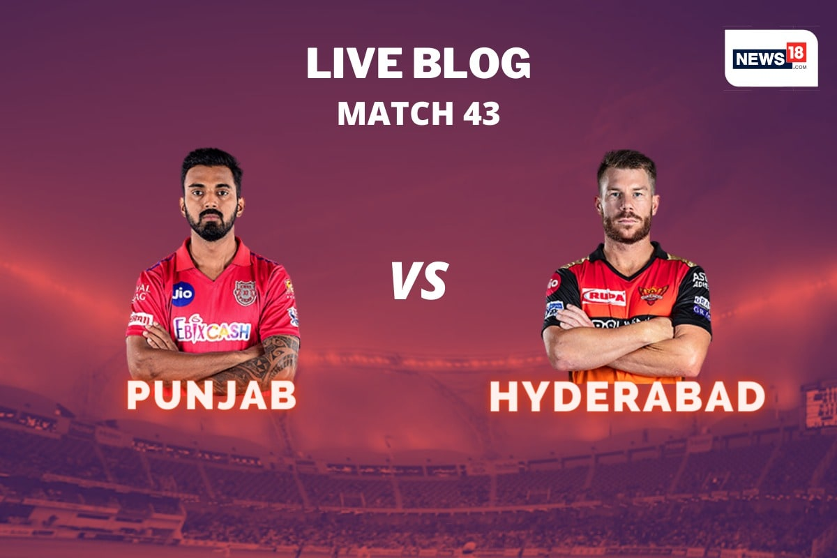 IPL 2020 Live Score, KXIP vs SRH Today's Match at Dubai: A Fate Deciding Match for Both Sides