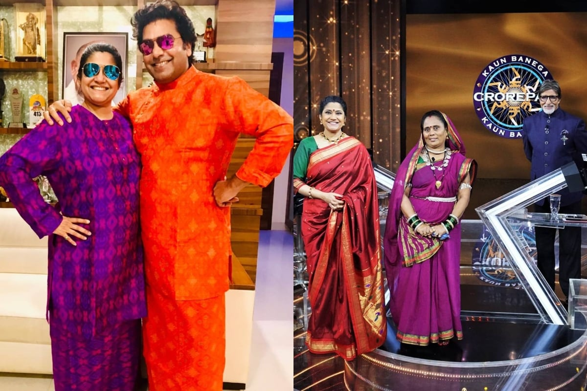 'Mere Pati ka Naam': How Renuka Shahane Reacted to This Question on KBC 12