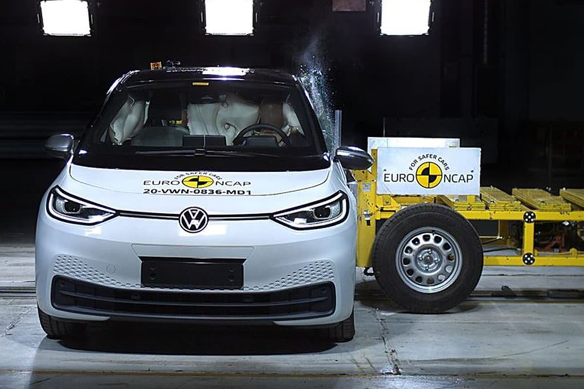 Volkswagen ID.3 EV Scores Full 5 Stars in Euro NCAP Crash Test Safety Rating: Watch Video