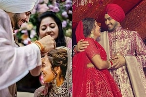 Every Candid Photos From Neha Kakkar & Rohanpreet Singh's Wedding