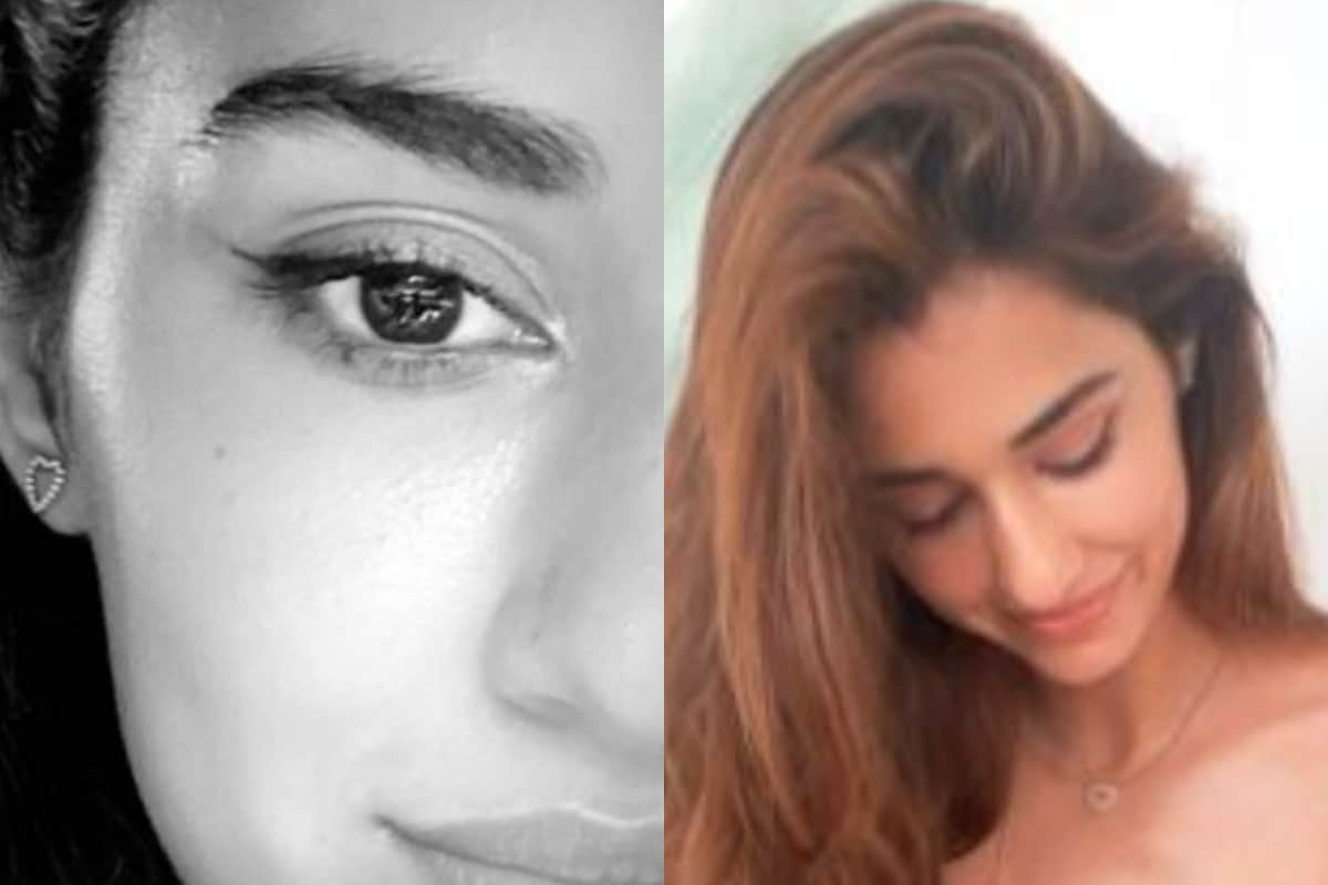 Disha Patani Finds Putting Eyeline 'Not Easy', Shares Pic