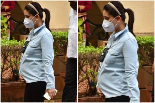 Kareena Kapoor snapped in Mumbai