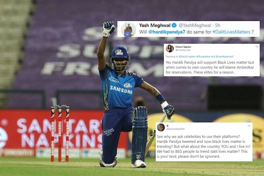 Hardik Pandya Takes a Knee for 'Black Lives Matter', Twitterrati Ask Him 'What About Dalit Lives?'