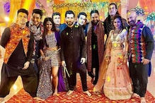 Surbhi Chandna Shares BTS Picture of Naagin 5 Team Celebrating Dussehra