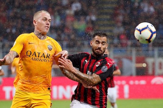 AC Milan-AS Roma (Photo Credit: Reuters)