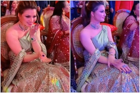 Urvashi Rautela Wears Leather Lehenga and Jewellery Worth Rs 55 Lakh at Neha Kakkar's Wedding