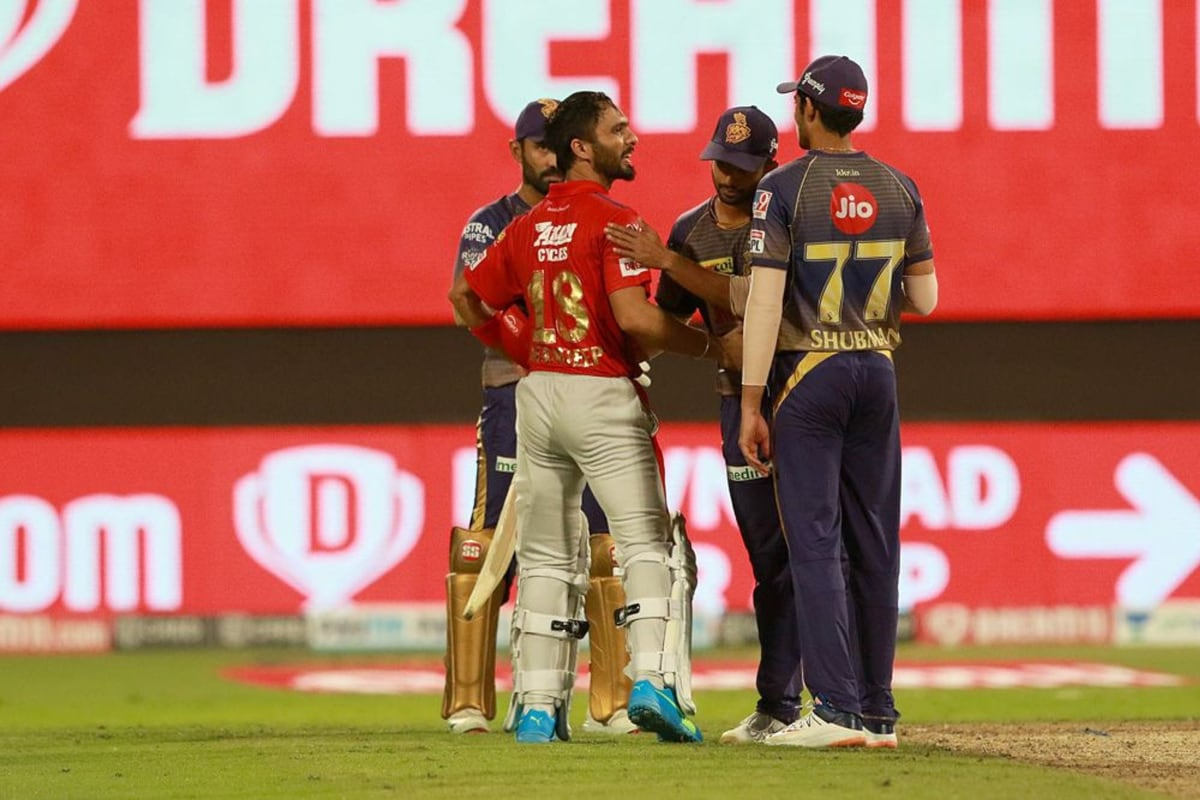 IPL 2020 Points Table: IPL 13 Team Standings After KKR vs KXIP Match