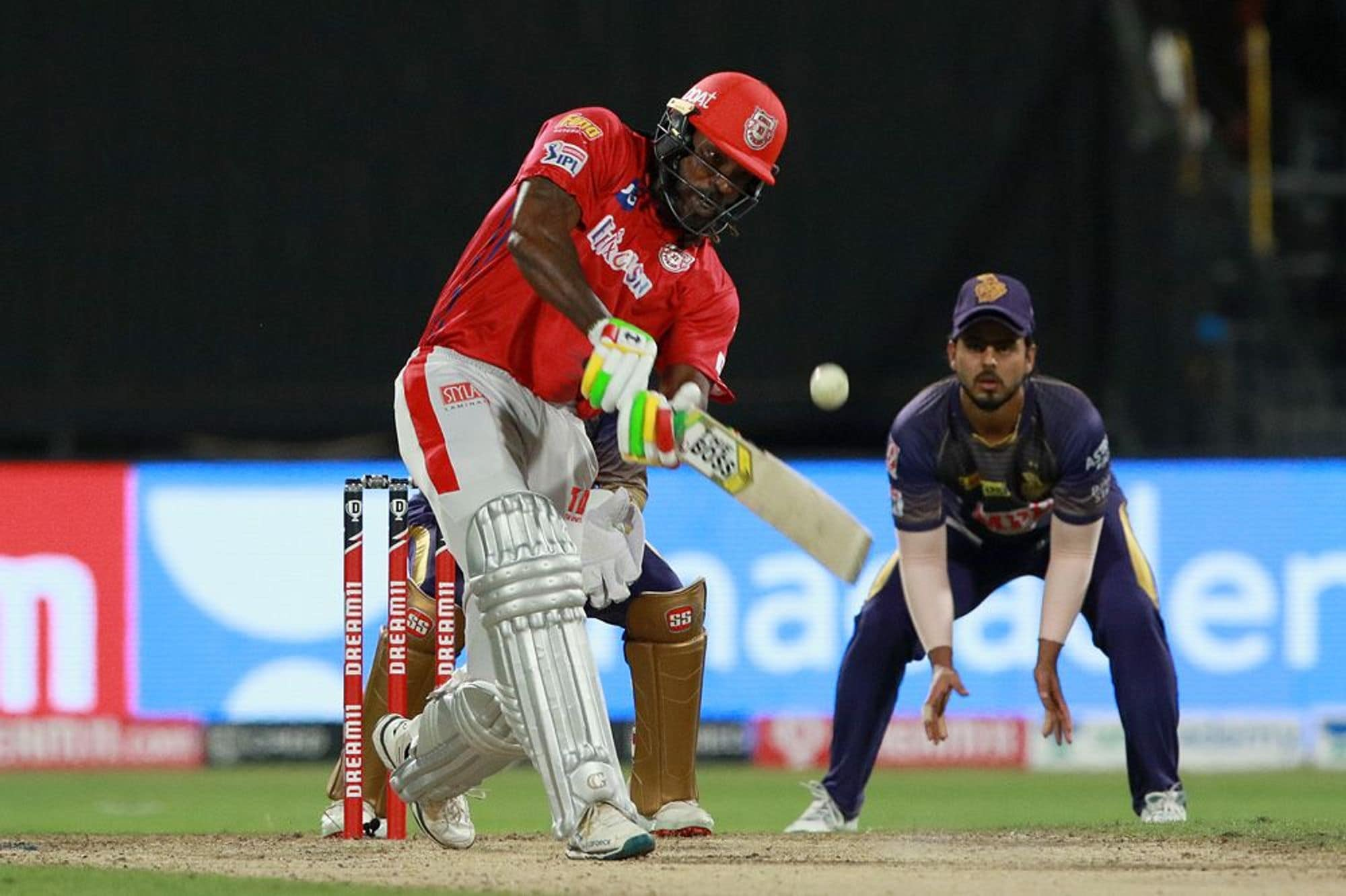 IPL 2020: In Pics, Kolkata Knight Riders vs Kings XI Punjab, Match 46 at Sharjah