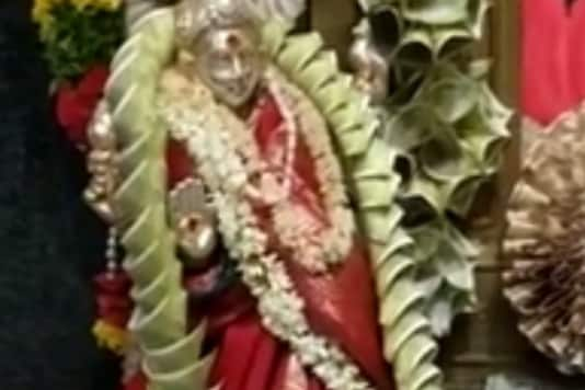 Goddess at Telangana Temple Adorned with 'Flowers' Made of Currency Notes worth Rs 1.11 Crore